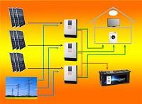 3 phasig mit Lithium Batterien