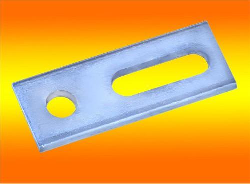 1 Stück Adapterblech M12 für Stockschrauben Edelstahl A2