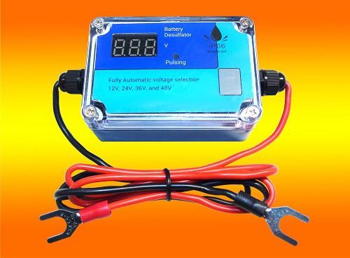Batteriepulser,12V, 24V, 48V, Batterie Aktivator, Desulfator- Refresher