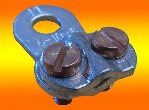 Kabelschuh Klemme 6 - 25mm² für Stromabel / Batteriekabel / Solarkabel