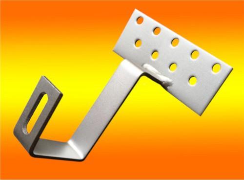 1 Stück Edelstahl - Dachhaken A2 für Dachsteine, Dachpfannen