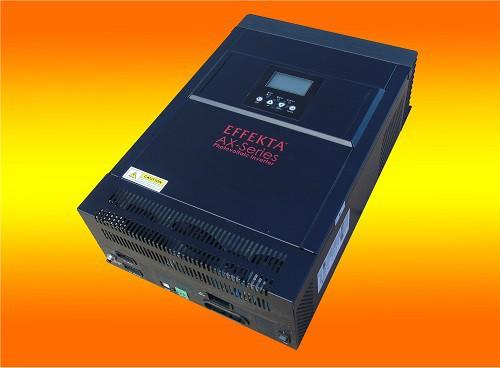 Effekta AX P3000-24Volt Hybrid Wechselrichter für Batteriespeicher