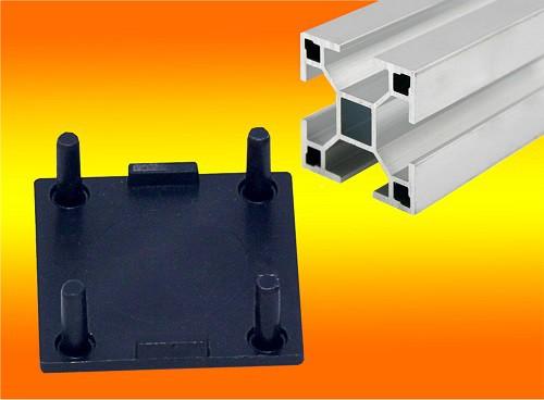 1 Stück Endkappe für Montageprofil -- 40 x 40mm
