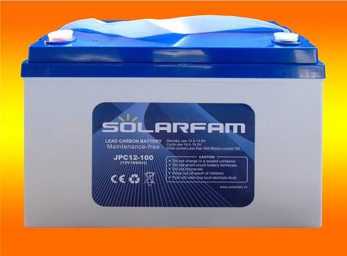 12V 100Ah Lead Carbon Kohlenstoff Batterie mit sehr hoher Lebensdauer