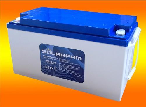 12V 150Ah Lead Carbon Kohlenstoff Batterie mit sehr hoher Lebensdauer