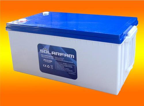 12V 200Ah Lead Carbon Kohlenstoff Batterie mit sehr hoher Lebensdauer