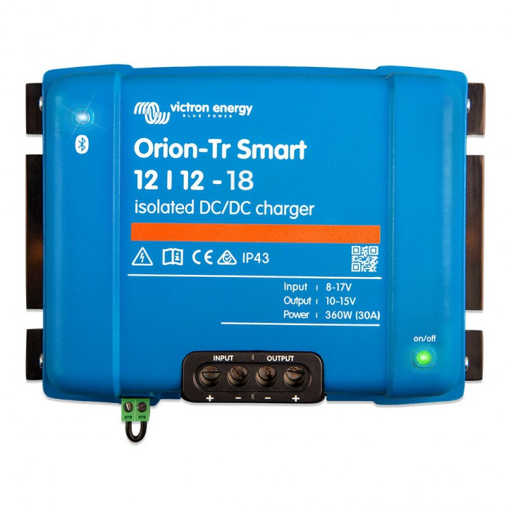 Smart DC-DC Ladewandler Victron Energy Orion-Tr 12/12-18A Isoliert