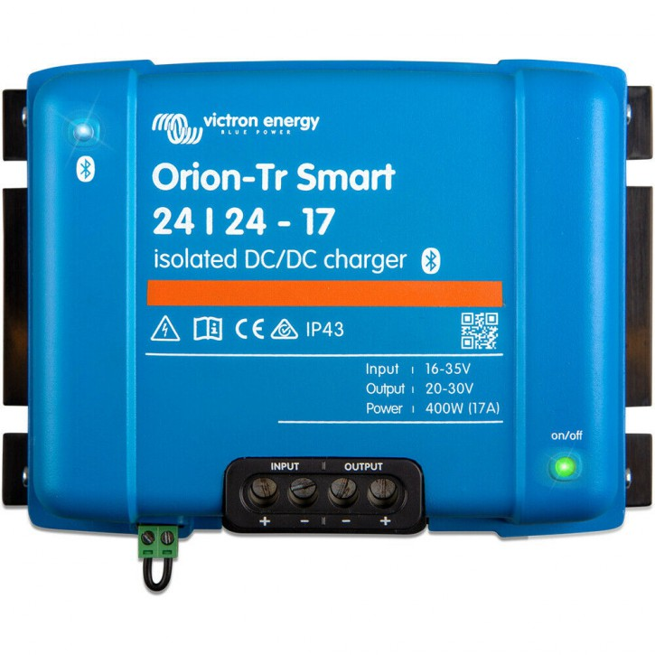 Smart DC-DC Ladewandler Victron Energy Orion-Tr 24/24-17A Isoliert