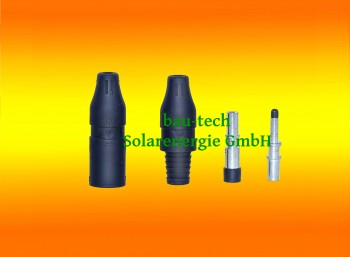 1 Paar MC3 Solarstecker 4 - 6 mm² Original Multi Contact für Solarkabel