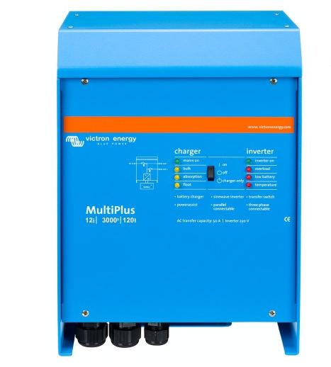 Victron MultiPlus 12/3000/120-16 12V 230V 2400W-6000W Wechselrichter 120A Ladegerät