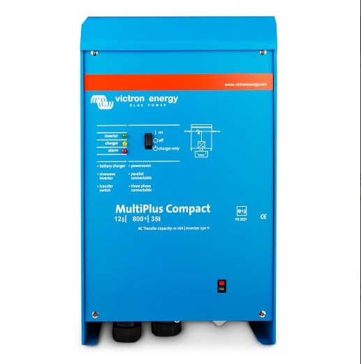 Victron MultiPlus C 12/800/35-16 12V 230V 700W-1400W Wechselrichter 35Amper Ladegerät