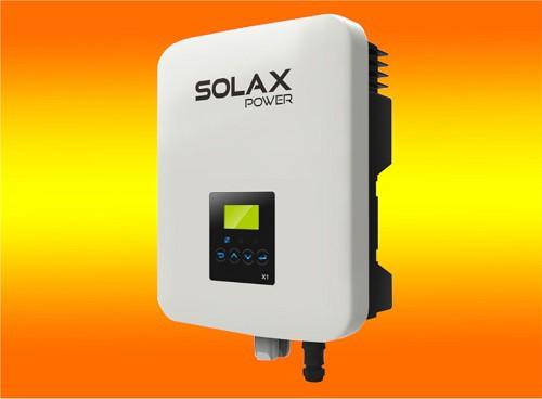 SolaX Wechselrichter 5000Watt 1-Phasig X1 5.0-TD Dual-MPPT
