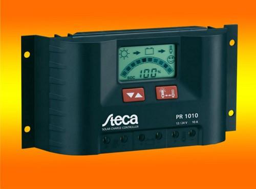 Steca LCD Display PR 1010 Solar Laderegler 12V 24V