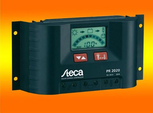 Steca LCD Display PR 2020 Solar Laderegler 12V 24V