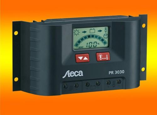 Steca LCD Display PR 3030 Solar Laderegler 12V 24V