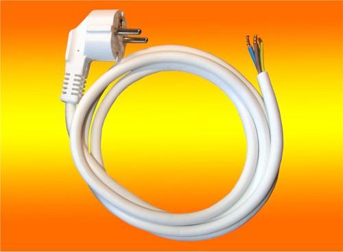 Schuko - Anschlussleitung 3x1,5mm Länge 1,5m weiß