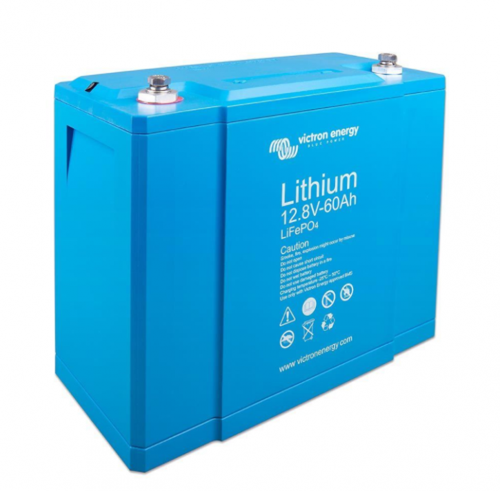 Victron Lithiumbatterie 12V 60Ah LiFePO4 mit integriertem Zellausgleich