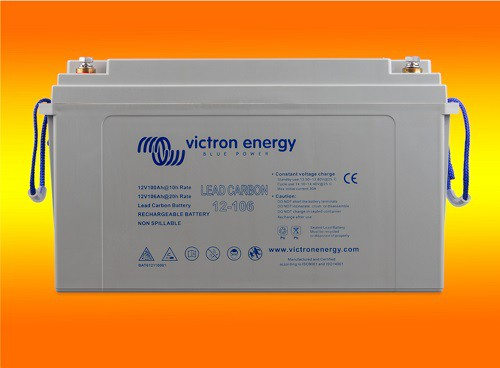 Victron Lead Carbon Solarbatterie 12V 106Ah (M8) Blei-Kohlenstoff