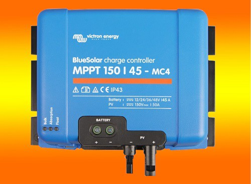 VICTRON Laderegler Energy BlueSolar MPPT 150/45 150Volt / 45Amper MC4