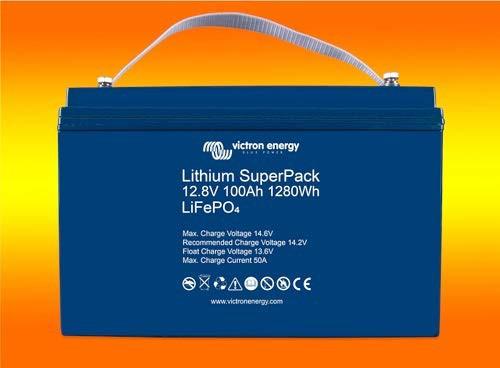 Victron Lithium 12V 100Ah Batterie mit BMS LiFePo4