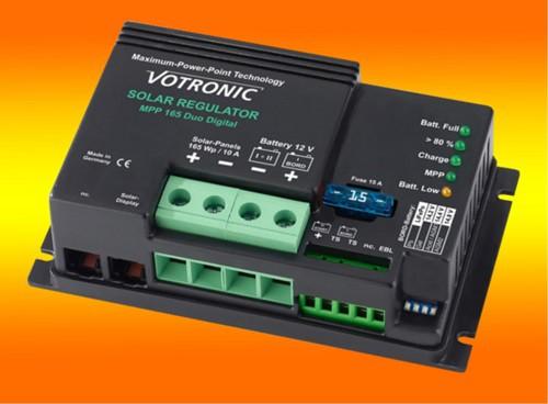 Votronic MPP 165 Duo Digital 10A 12V MPPT Solar-Laderegler für zwei Batterien