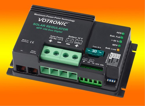 Votronic MPP 350 Duo Digital 21A 12V MPPT Solar-Laderegler für zwei Batterien