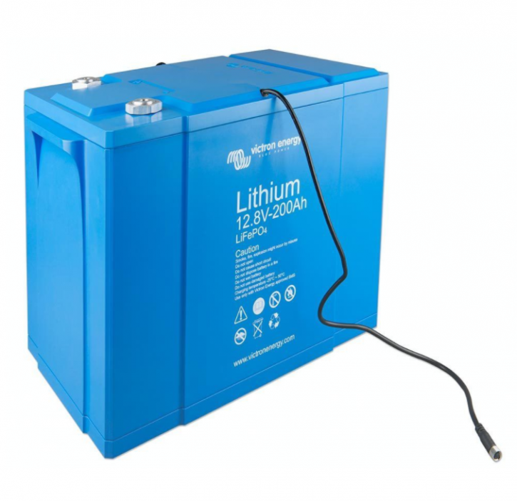 Victron Lithiumbatterie 12V 200Ah LiFePO4 mit integriertem Zellausgleich