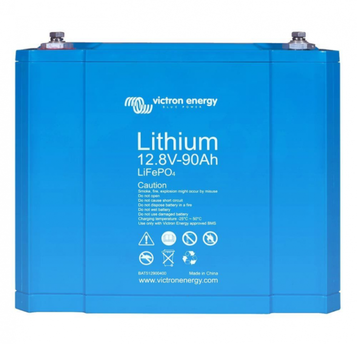 Victron Lithiumbatterie 12V 90Ah LiFePO4 mit integriertem Zellausgleich