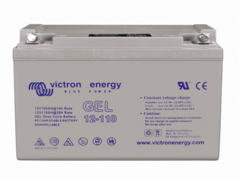 Victron Energy 12V 110Ah Deep Cycle Gel Batterie