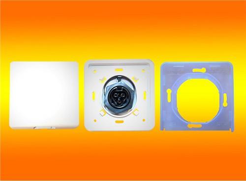 Wieland Einspeise Steckdose Einbaurahmen inkl. Buchse RST20i3 für Micro Inverter