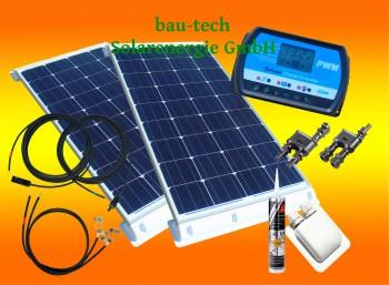 200 Watt Wohnmobil Camping Solaranlage 12 Volt SET