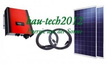 2000watt solaranlage photovoltaikanlage plug play ohne montagematerial 1715. Black Bedroom Furniture Sets. Home Design Ideas
