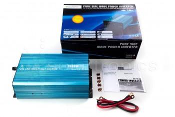 Solartronics Spannungswandler 12V reiner Sinus 1500W / 3000Watt