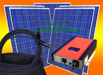 2500Watt   EFFEKTA Solaranlage