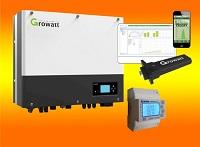 Growatt Netz Batterie Hybrid Wechselrichter  SPH-Serie 3000Watt bis 6000Watt 1.Phasig / 2 MPPT