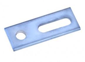 1 Stück Adapterblech M10 für Stockschrauben Edelstahl