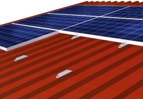 1 Stück C-Schiene für Trapezblech-Dachbefestigung