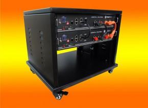 2400Watt mit 4,8 KW Lithium Speicher mit Montagematerial Pfannendach