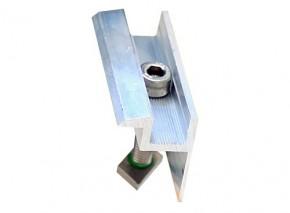 1 Stück Modul - Endklemme 40mm inkl. Verschraubung