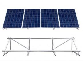 1250Watt Growatt Solaranlage Aufständerung