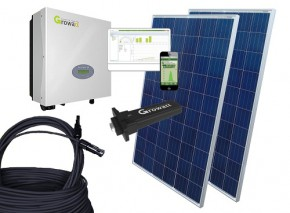 1500Watt Growatt Solaranlage