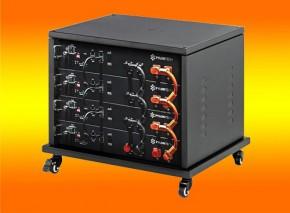 9,6 kWh Lithium-Ionen Batterienachrüstsatz für neue und bestehende Photovoltaikanlagen
