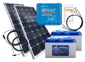 24V Solarkit für Torantriebe ohne Montagematerial