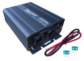 Solartronics Spannungswandler 12V modifizierter Sinus 2500W / 5000Watt