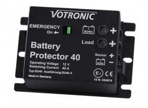Votronic Battery Protector 40 - 12V Batteriewächter / Batterie, Akku Überwachung