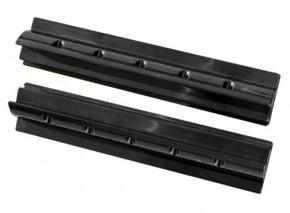 Solar Halterung 55cm Ultra Spoilerprofil für Wohnmobile in schwarz für 100Watt Module