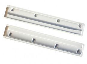 Solar Halterung 68cm Ultra Spoilerprofil für Wohnmobile in Weiss für 130Watt / 150Watt Module